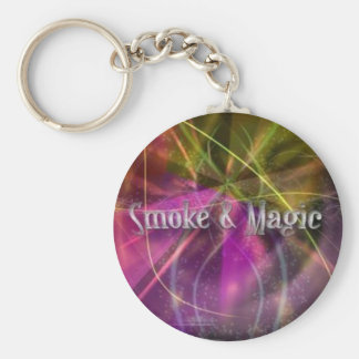Smoke & Magic Keychain