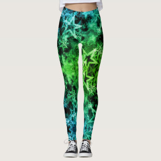 Smoke & Mirrors Greenleaf Star Leggings