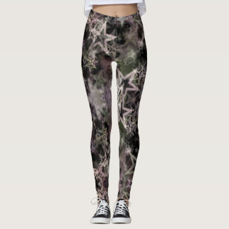 Smoke & Mirrors Star Leggings
