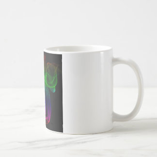 Smoke multicolor coffee mug