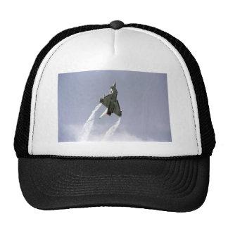 smoke on trucker hat