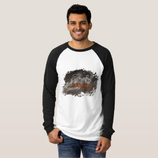 Smoke On The Bricks Long Sleeve Raglan T-Shirt