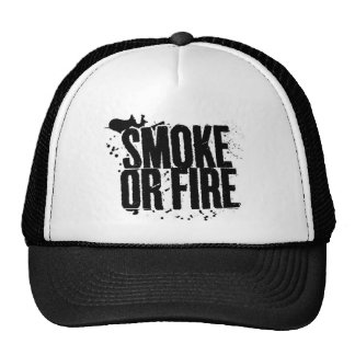 smoke or fire hat