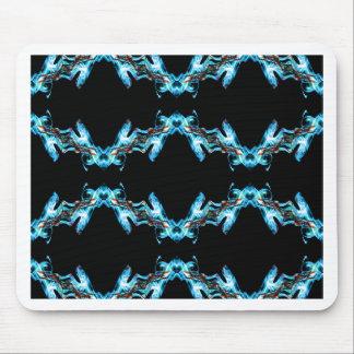 Smoke pattern (2) mouse pad