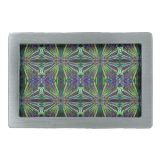 Smoke Pattern  (3) Rectangular Belt Buckle