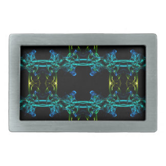 Smoke pattern (9) belt buckle