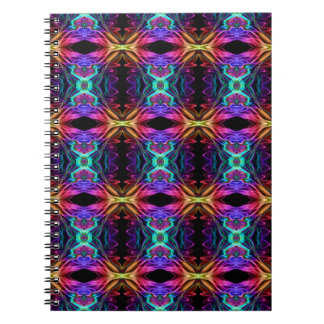 Smoke Pattern Ab (11) Spiral Notebook