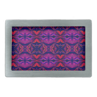 Smoke Pattern Ab (2) Rectangular Belt Buckles