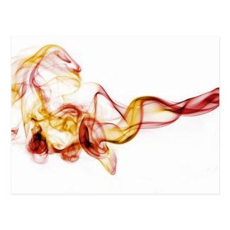 smoke postcard