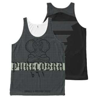 Smoke Purecobra All-Over-Print Tank Top