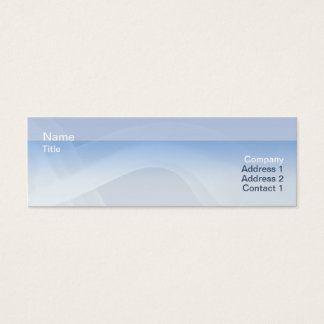 Smoke - Skinny Mini Business Card