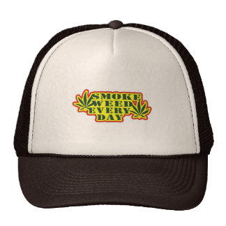 Smoke Weed Every Day Trucker Hat