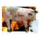 smoked bacon postcard