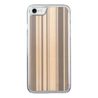 Smoked Pearl Stripes Varied Geometric Pattern Carved iPhone 8/7 Case