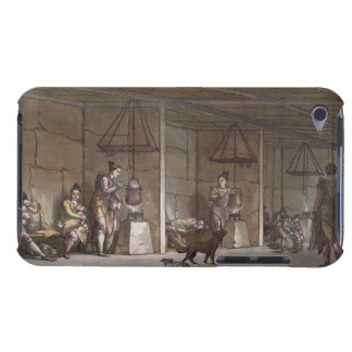 Smokehouse in Greenland (colour engraving) iPod Case-Mate Case