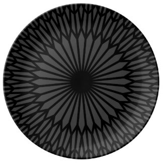 "Smokey 10.75"" Decorative Porcelain Plate"