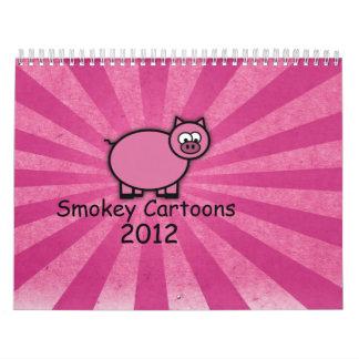 Smokey Cartoons 2012 Calendar