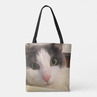 Smokey Cat Eyes Tote Bag