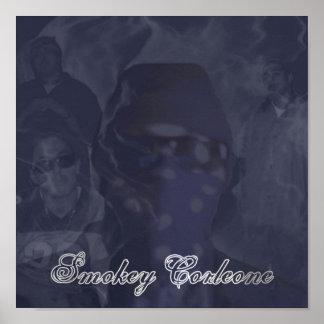 Smokey Corleone Multi Image Poster