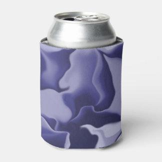 Smokey Dark Blue Can Cooler