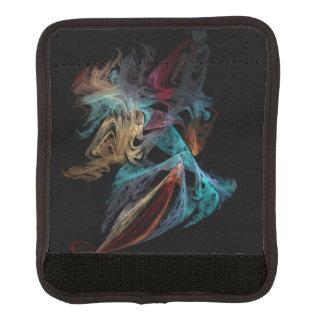 Smokey Fractal Luggage Handle Wrap