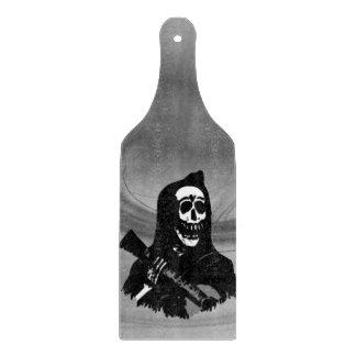 Smokey Guitar Skeleton Serenade Cutting Board