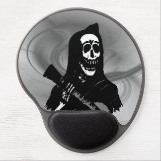 Smokey Guitar Skeleton Serenade Gel Mouse Pad