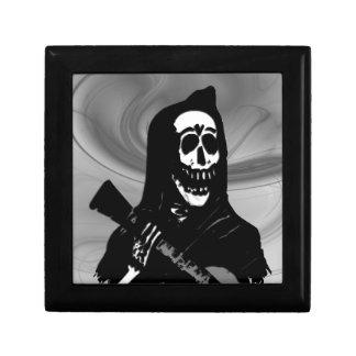 Smokey Guitar Skeleton Serenade Gift Box