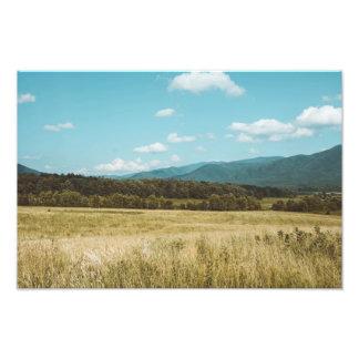Smokey Mountain Vista Photo Print