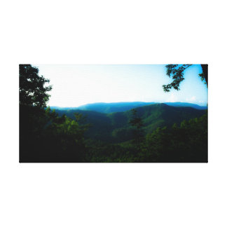 Smokey Mountains Canvas Print