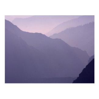 Smokey Mountains Haze Postcard