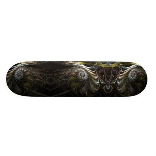 smokey roses skate deck