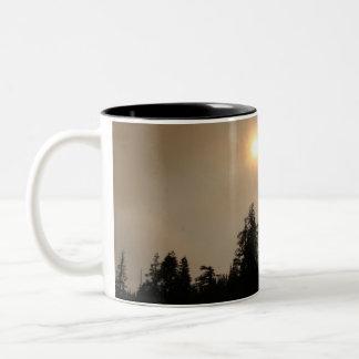 Smokey Sky Two-Tone Coffee Mug