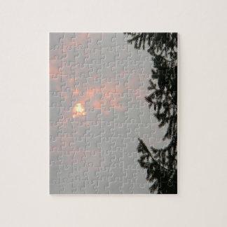 Smokey Sun... Jigsaw Puzzle