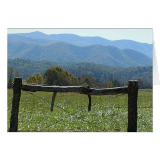 Smokies & Fence Card