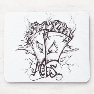 smokin aces mouse pad