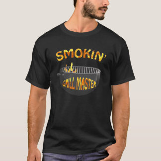 Smokin Grill Master Black T-shirt