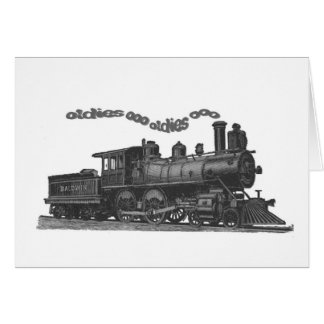 Smokin' Oldies Train Cards & Notes...