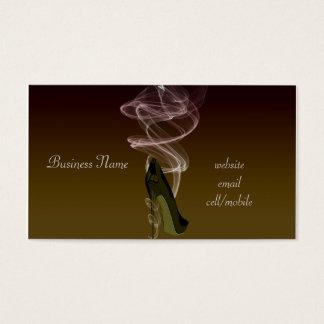 Smokin' Stiletto High Heel Shoe Art Business Card