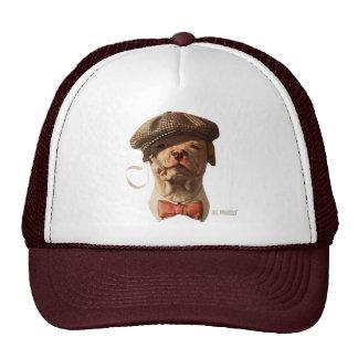 Smoking Bull Dog Trucker Hat
