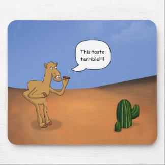 Smoking camel mouse pad