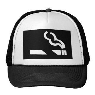 smoking cap trucker hat