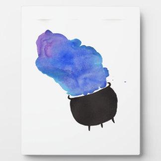 Smoking Cauldron Plaque
