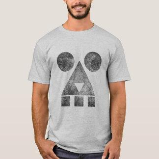 Smoking creepy face men's basic T-shirt HQH