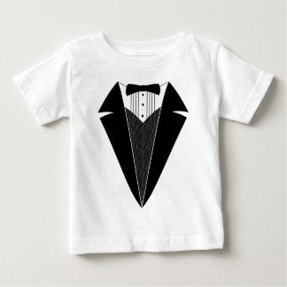 Smoking de bébé, noir + Blanc Tee-shirt