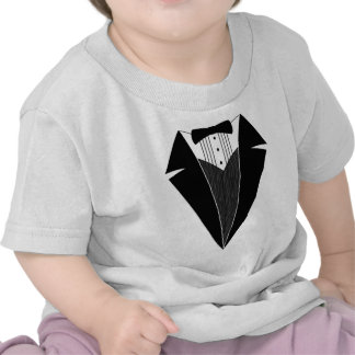 Smoking de bébé, noir + Blanc T-shirts