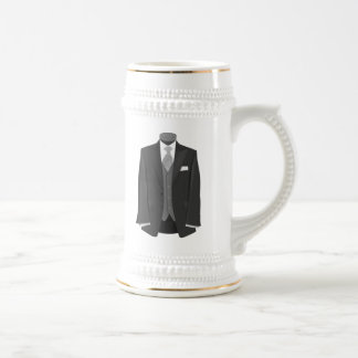 Smoking de mariage tasses