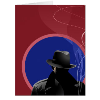 Smoking Detective Card