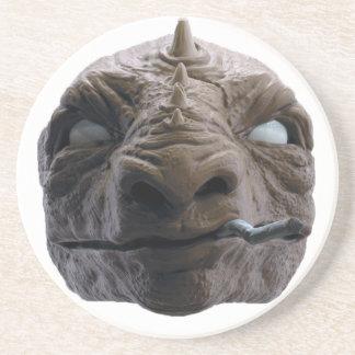 Smoking dinosaur coaster