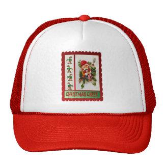 Smoking elf trucker hat